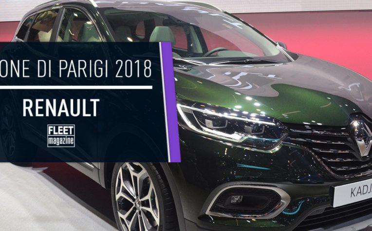 Renault al Salone di Parigi 2018