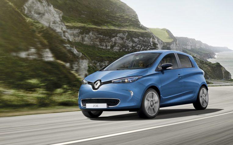 Renault Zoe elettrica