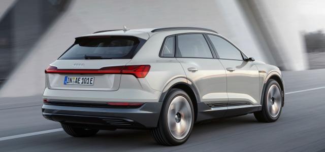 Retro nuova Audi e-tron