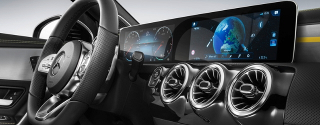 Sistema multimediale MBUX Mercedes-Benz