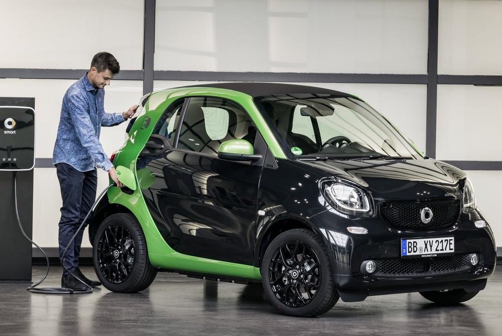 Smart EQ fortwo autonomia elettrica
