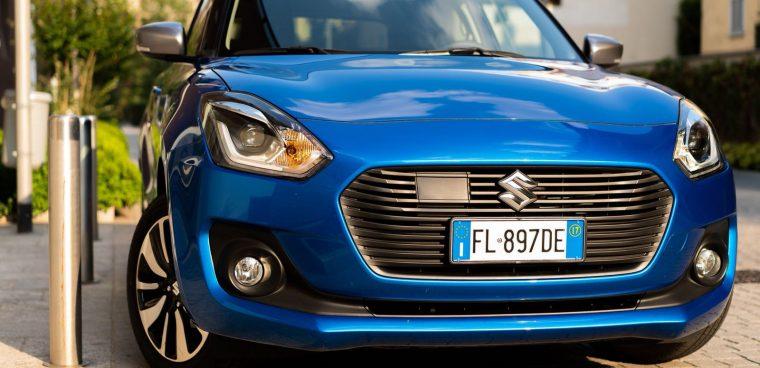 Suzuki Swift Hybrid All Grip frontale