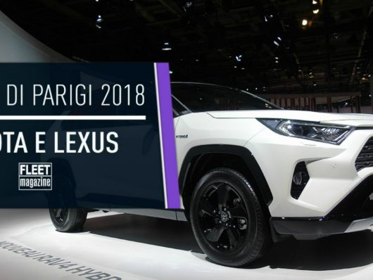 Toyota Lexus Salone Parigi 2018