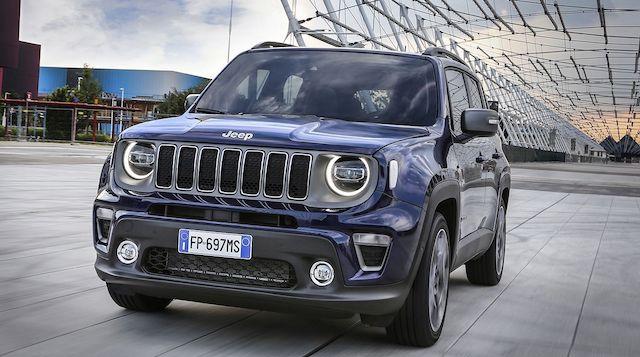 Uscita di nuova Jeep Renegade ibrida