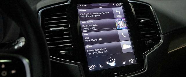 Volvo Sensus sistema multimediale