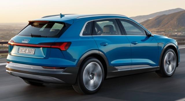 Nuova Audi e-tron con Enel X