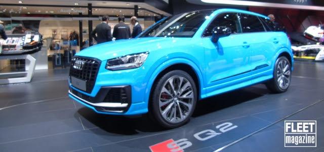Audi SQ2 al Salone di Parigi 2018