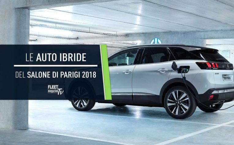auto ibride Salone Parigi 2018