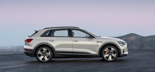 esterni nuova Audi e-tron 2019