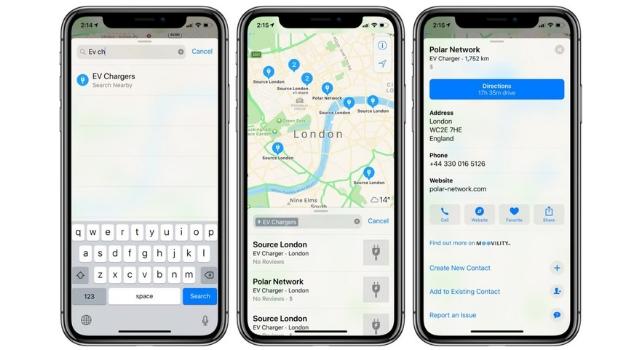 Google Maps localizza le stazioni di ricarica per le auto elettriche