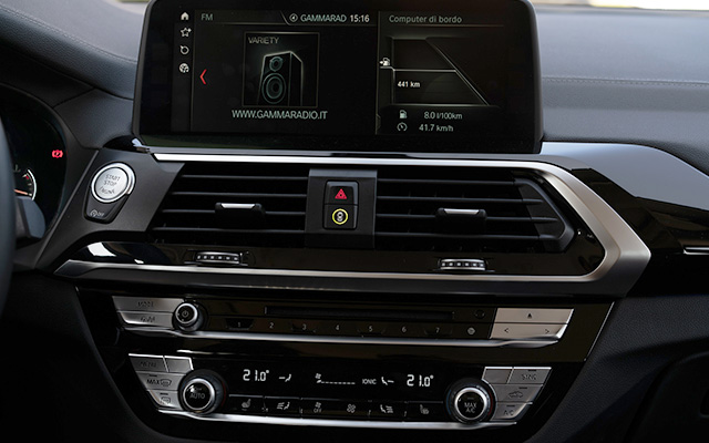 Infotainment BMW X3 2019
