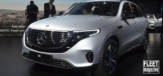 Mercedes EQC al Salone di Parigi 2018