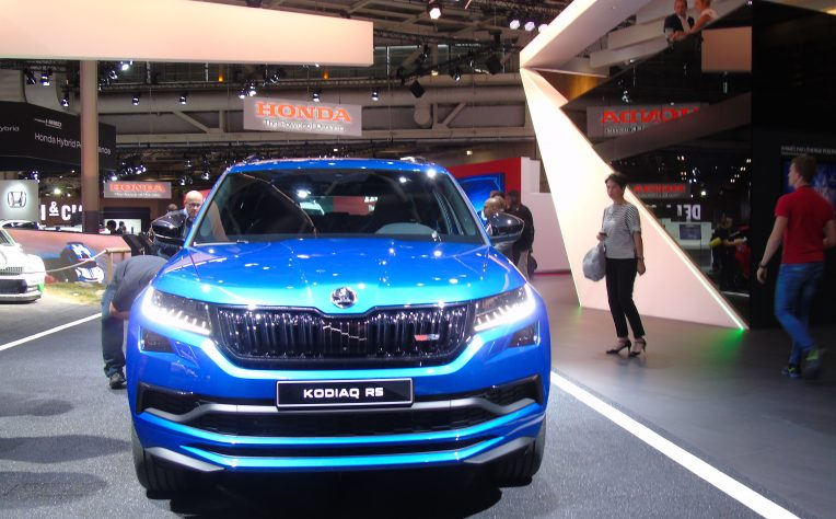 novità Skoda al Salone did Parigi 2018