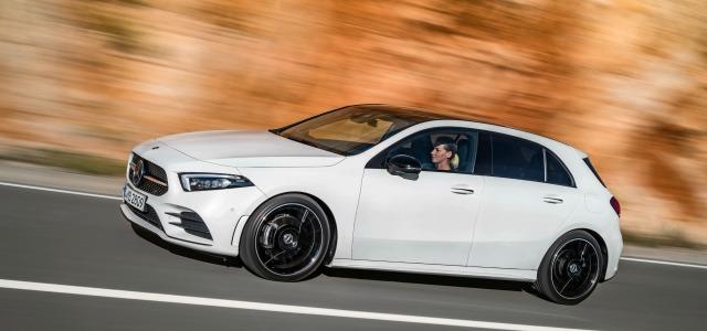 nuova Mercedes Classe A dinamica