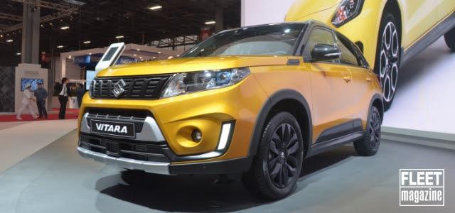 Suzuki Vitara al Salone di Parigi 2018