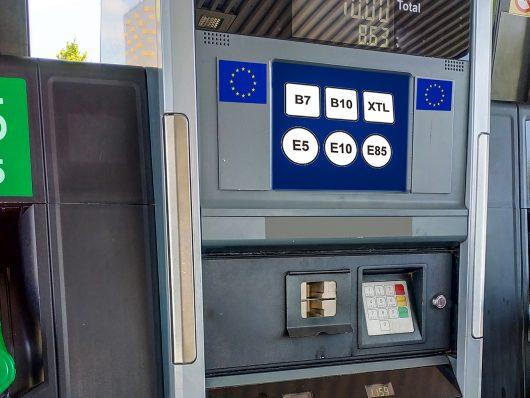 Nuove etichette carburante in Europa dal 12 ottobre 2018