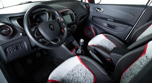 Gli interni della nuova Renault Captur Tokyo Edition