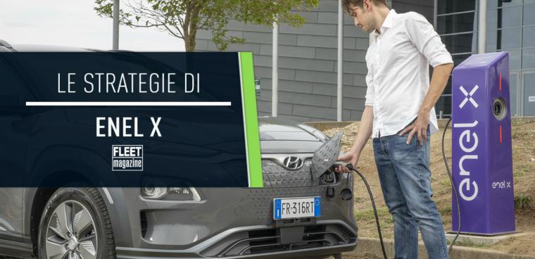 strategie Enel X auto elettrica