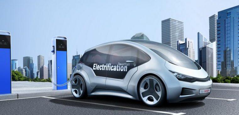 Il van sharing elettrico di Bosch per i negozi toom