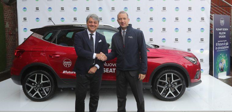 Accordo Seat-Snam per le auto a metano