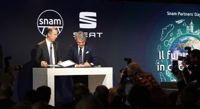 Accordo Seat-Snam per una maggiore diffusione delle auto a metano CNG