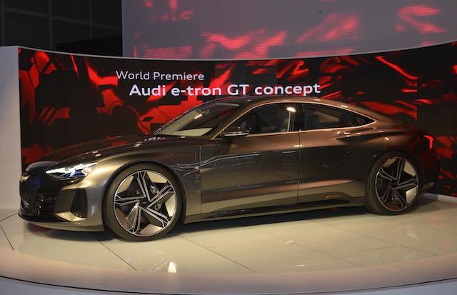 Audi e-tron GT Concept Los Angeles