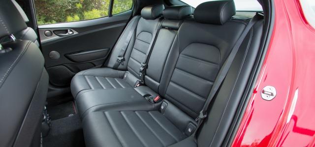 Comfort nuova Kia Stinger