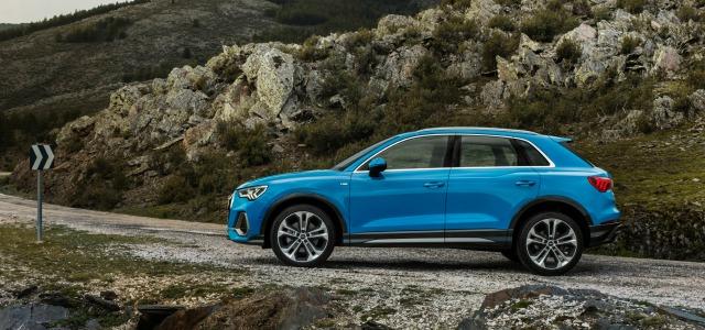 Esterni nuova Audi Q3 2019