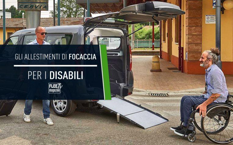 Focaccia Group allestiti disabili