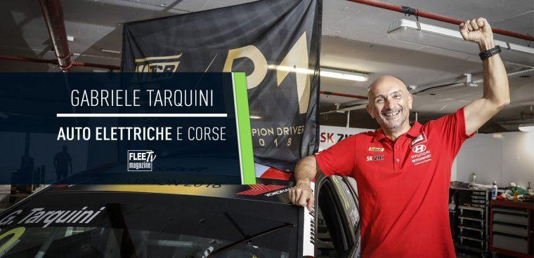 Gabriele Tarquini auto elettrica