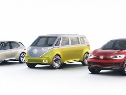Gamma Volkswagen I.D. elettriche