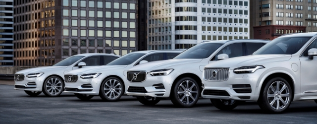 Gamma auto ibride plug-in Volvo modelli