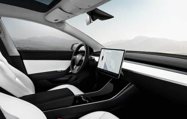 Interni Tesla Model 3