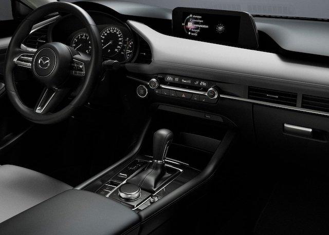 Interni di Mazda 3