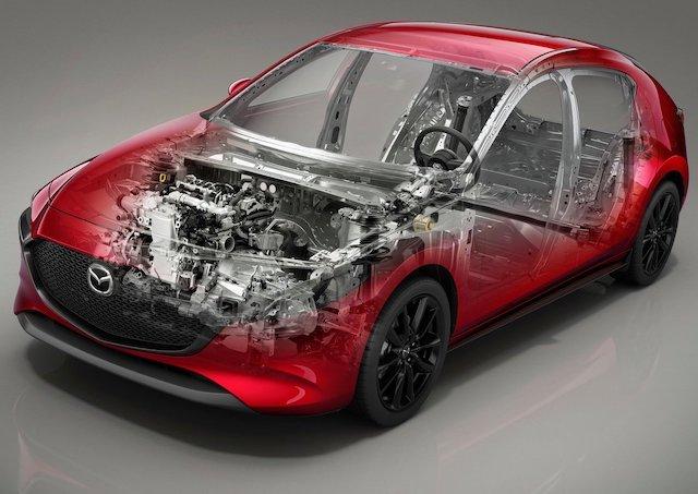 Mazda3 telaio e motore