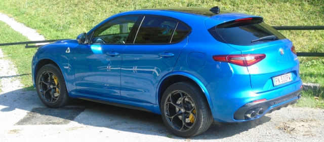 Nuova Alfa Romeo Stelvio Quadrifoglio linee