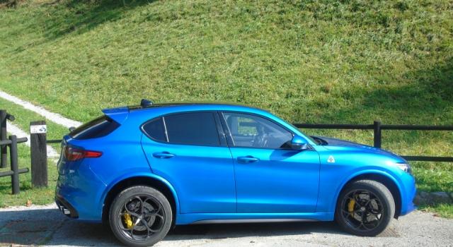 Nuova Alfa Romeo Stelvio Quadrifoglio Suv sportivo