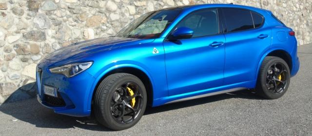 Nuova Alfa Romeo Stelvio Quadrifoglio