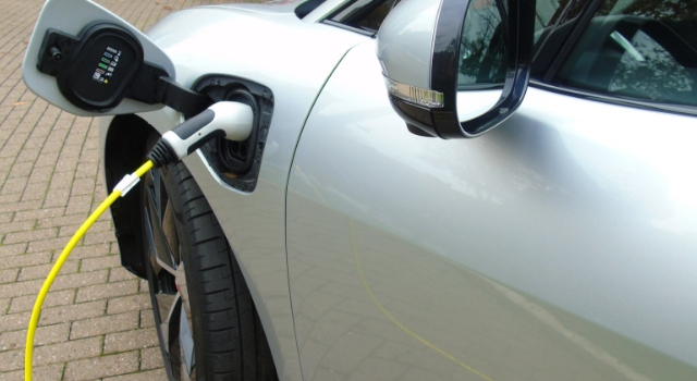 Nuova Jaguar I-Pace ricarica batteria