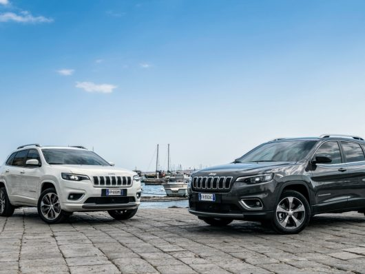 Nuova Jeep Cherokee noleggio chiaro di leasys maggio 2019