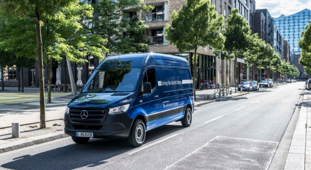 Nuovo Mercedes eSprinter 2019