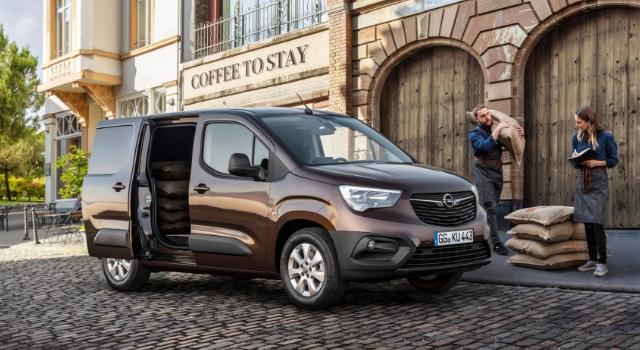 Nuovo Opel Combo Cargo capacità carico