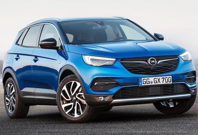 Opel Grandland X ibrido