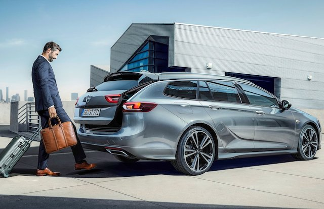 Opel Insignia model year 2019