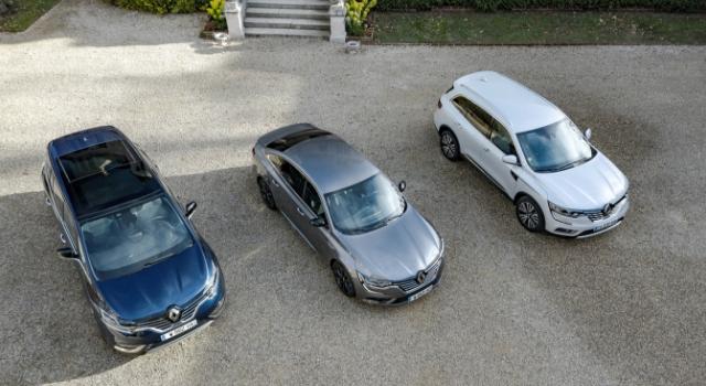 Renault top di gamma modelli Espace, Koleos e Talisman