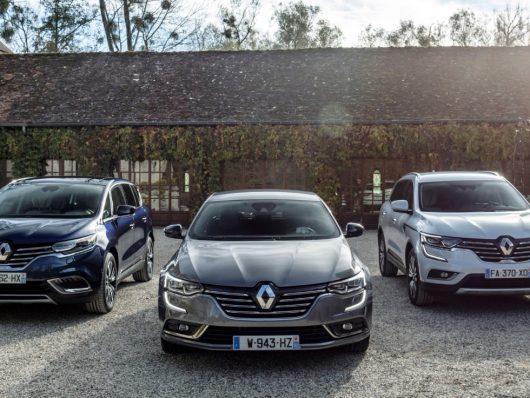 Renault top di gamma Espace, Koleos e Talisman