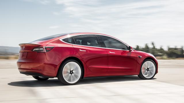 Tesla Model 3 in Italia