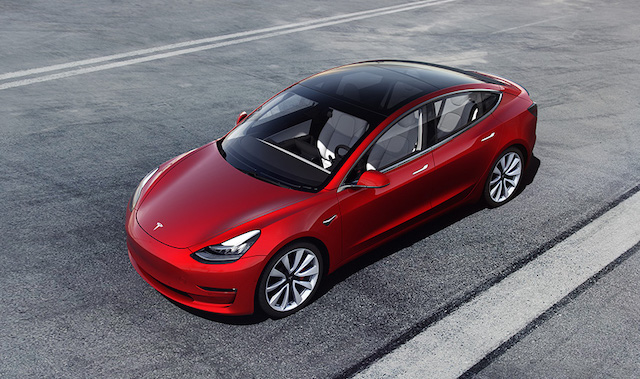 Uscita di Tesla Model 3 in Italia