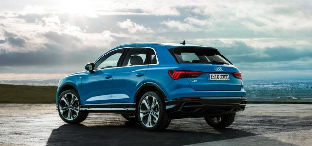 gamma Q nuova Audi Q3 2019
