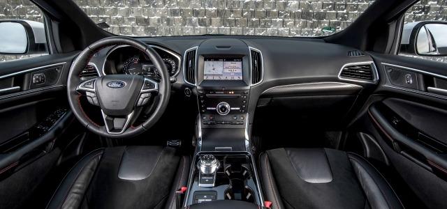 interni nuova Ford Edge 2019